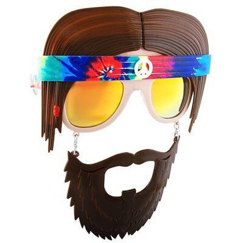 hippie photo booth prop glasses
