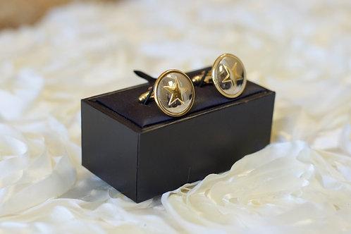 lone star cuff links wedding gift ideas gold silver