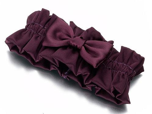 wedding garter, purple wedding, purple garter, bow garter, wedding reception, leg garter