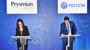 Prysmian Group и Россети договорились сотрудничать в области инновационного развития электросетей