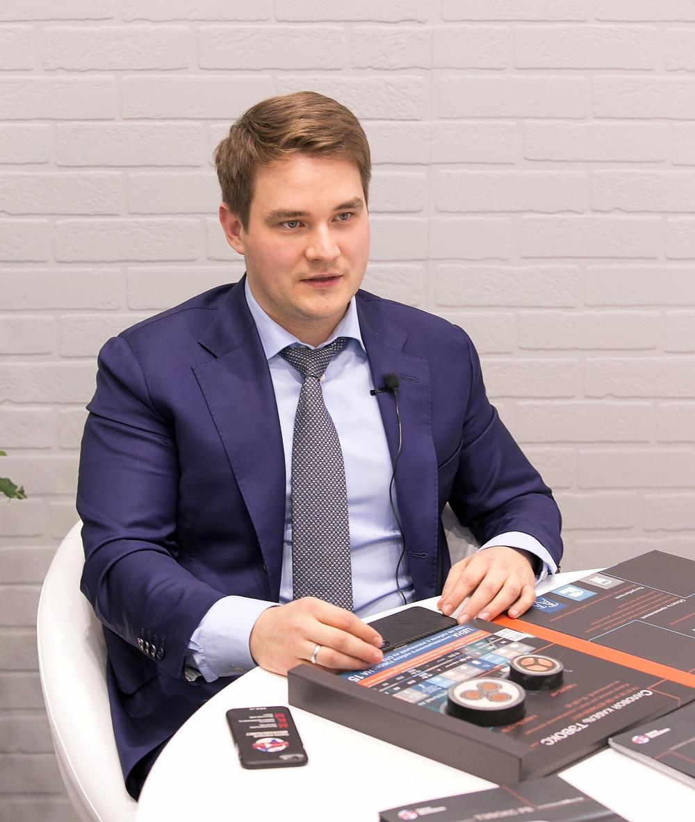 Павел Моряков - генеральный директор ГК «Москабельмет»