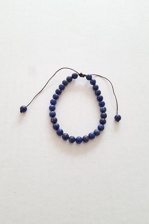 Lapis Lazuli teinté 6mm réglable