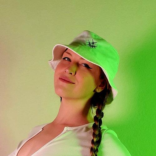 White MM Hat