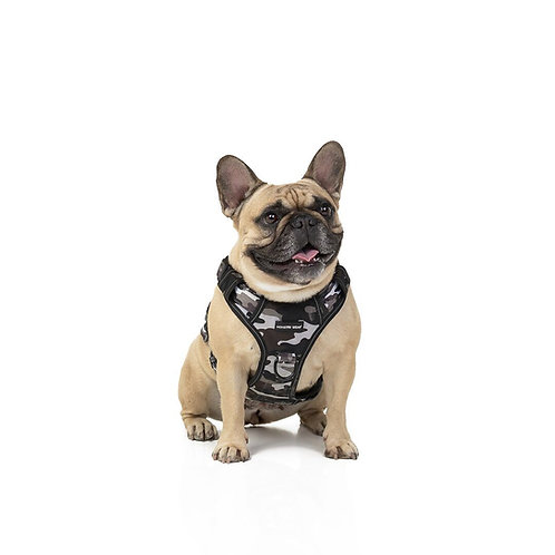 Grey Camo Harness
