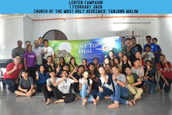 Lenten Campaign in Church of the Most Holy Redeemer, Tanjung Malim