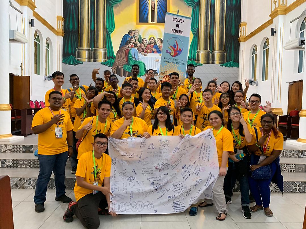 Penang Diocese contingent for MCCSD3