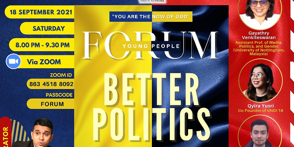Young People Forum: Better Politics