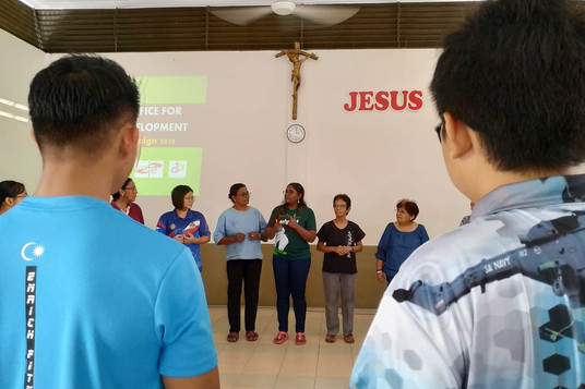 Jesus be the center of our life