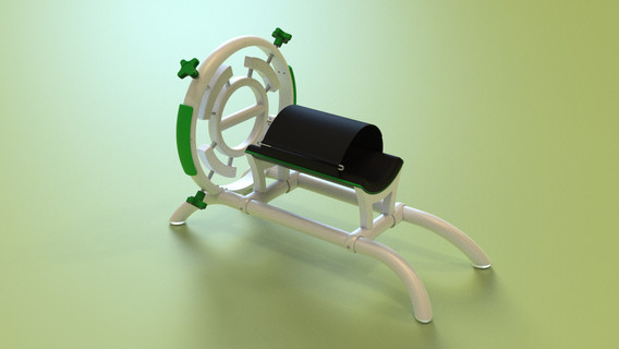 Urządzenie do rehabilitacji stawu promieniowo-nadgarstkowego