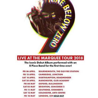 Nine Below Zero Tour