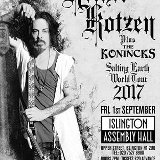 Richie Kotzen - Salting Earth World Tour
