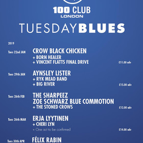 New Year Tuesday Blues 28/12/18
