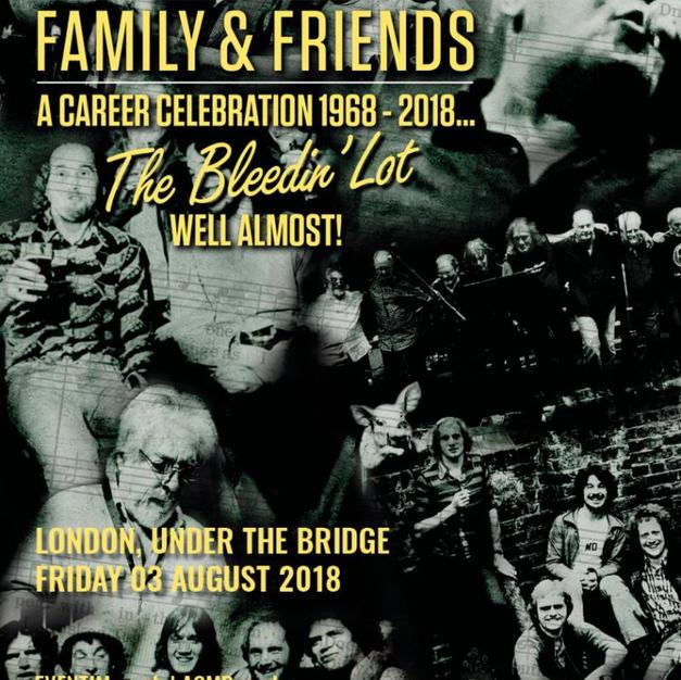 Roger Chapman Family & Friends