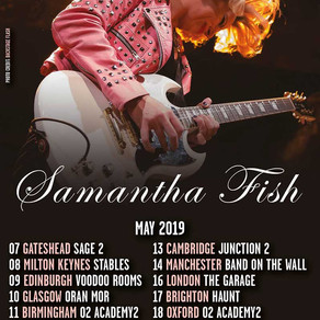 New Date Added To Samantha Fish Tour 27/12/18