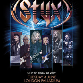 An Evening With Styx 24/12/18