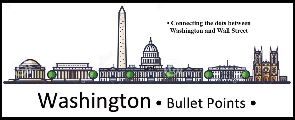 Washington Bullet Points connecting the