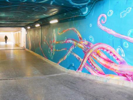 Terminato murales #arteincorso di Latisana