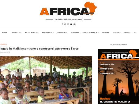 #MigrArt2 su Africa Rivista