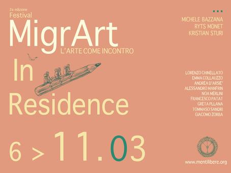 Artisti MigrArt in Residence