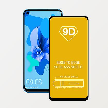 Mica de Vidrio Templado 9D Full Cover para Huawei