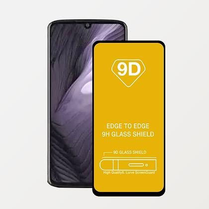 Mica de Vidrio Templado 9D Full Cover para Motorola