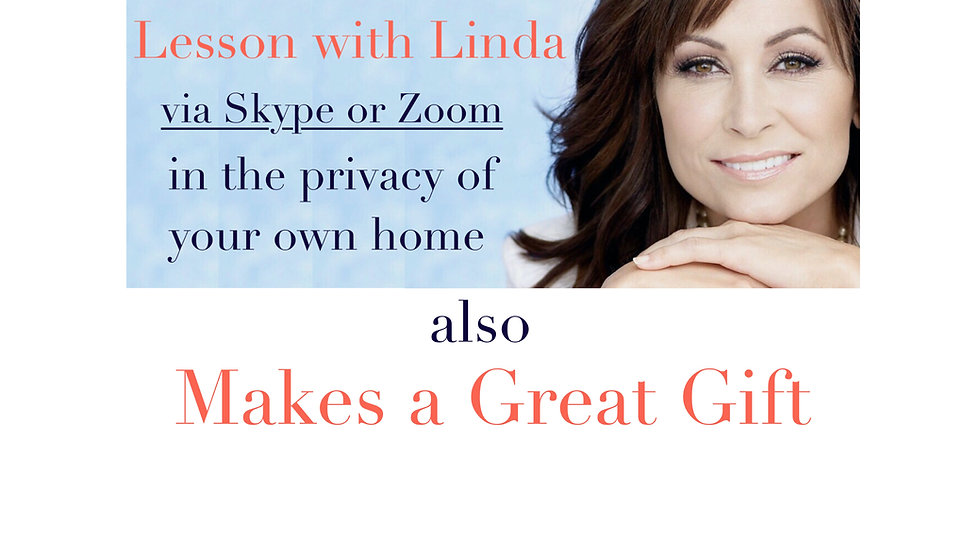 Private online voice lesson with Linda