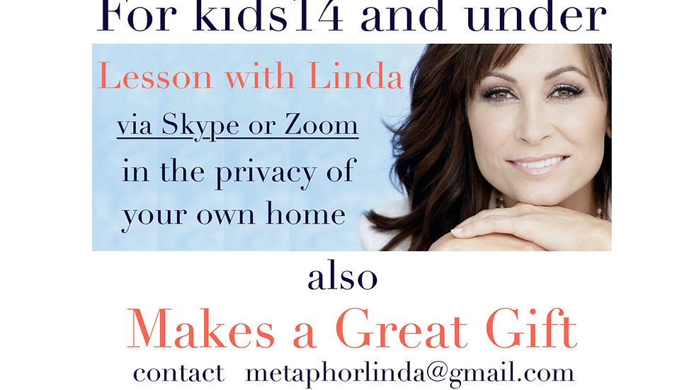Kids Voice lessons with Linda