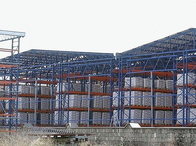 silo rack clad