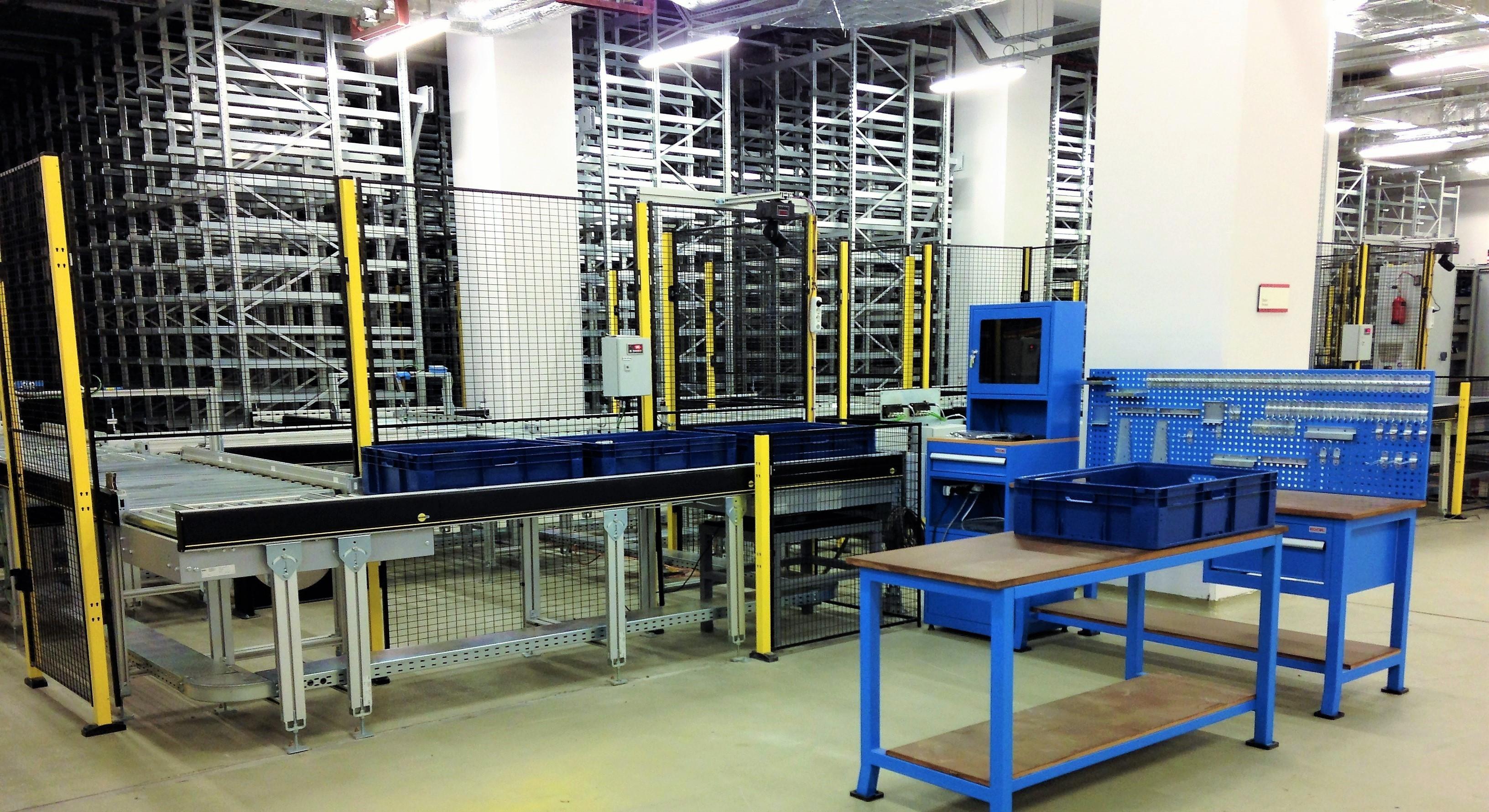 Mini load asrs | istanbul TURKEY | automatic rack system