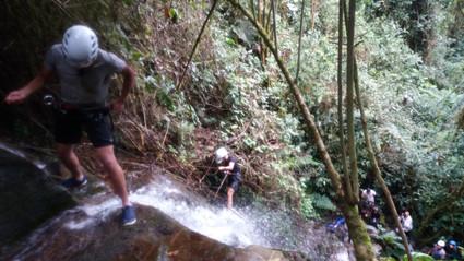 canyoning barranquismo en Selva Vergel