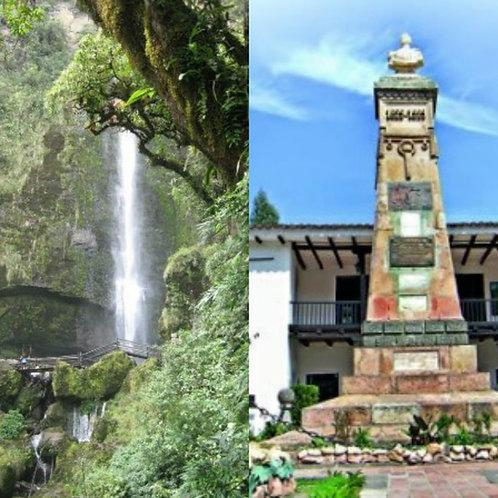 CHORRO DE GIRÓN (cascada) + CASA DE LOS TRATADOS