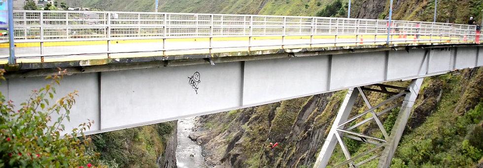 Tour de Bungee/ Puenting en Ecuador (Puente San Francisco- 80 metros de caída)