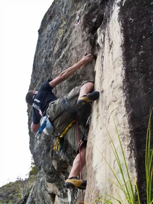 ESCALADA en roca - Cojitambo