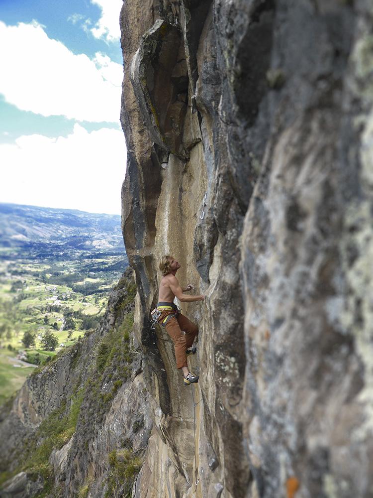 rock climbing tour Ecuador Cojitambo