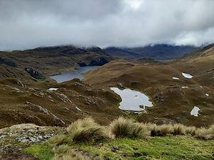 landscapes in cajas national park tours