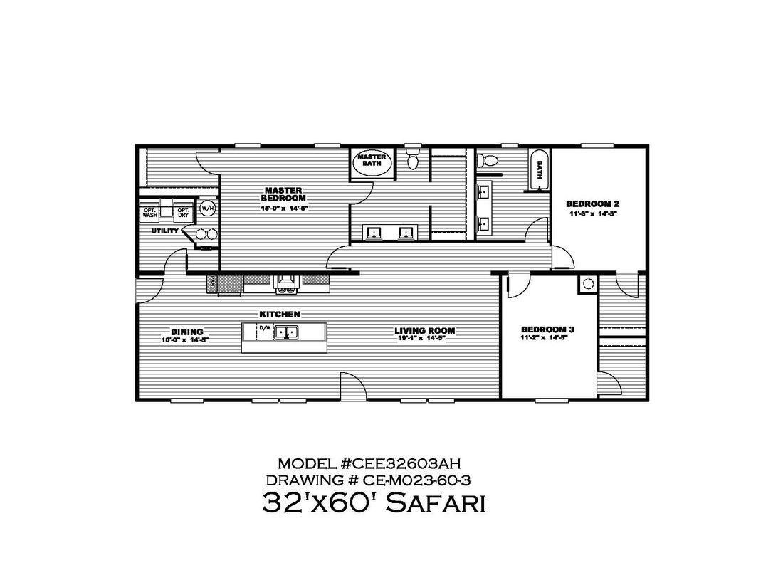 Safari Floor plan