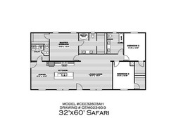 Safari Floor plan