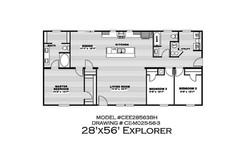 Explorer Floor plan