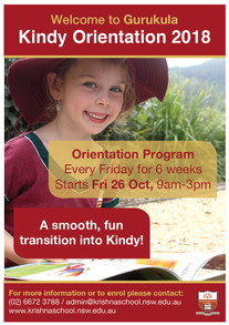 Kindy Orientation Program 2018
