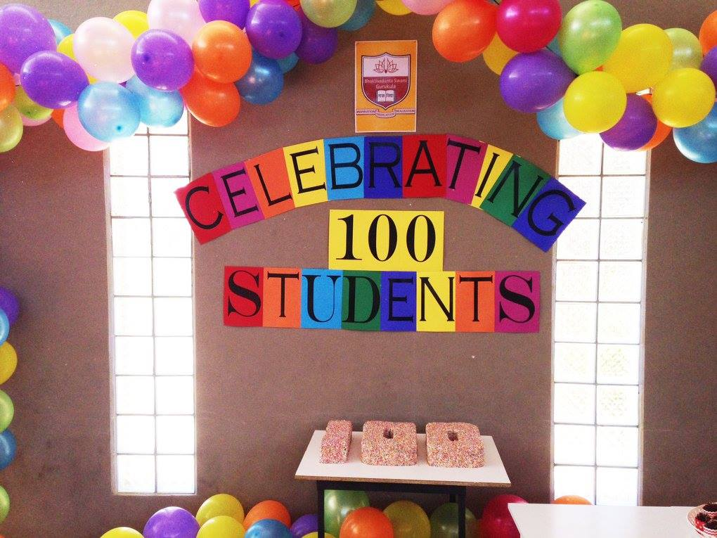 100 students pic