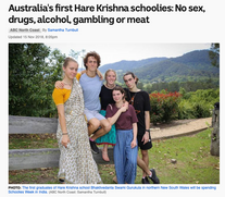 ABC article about our first schoolies