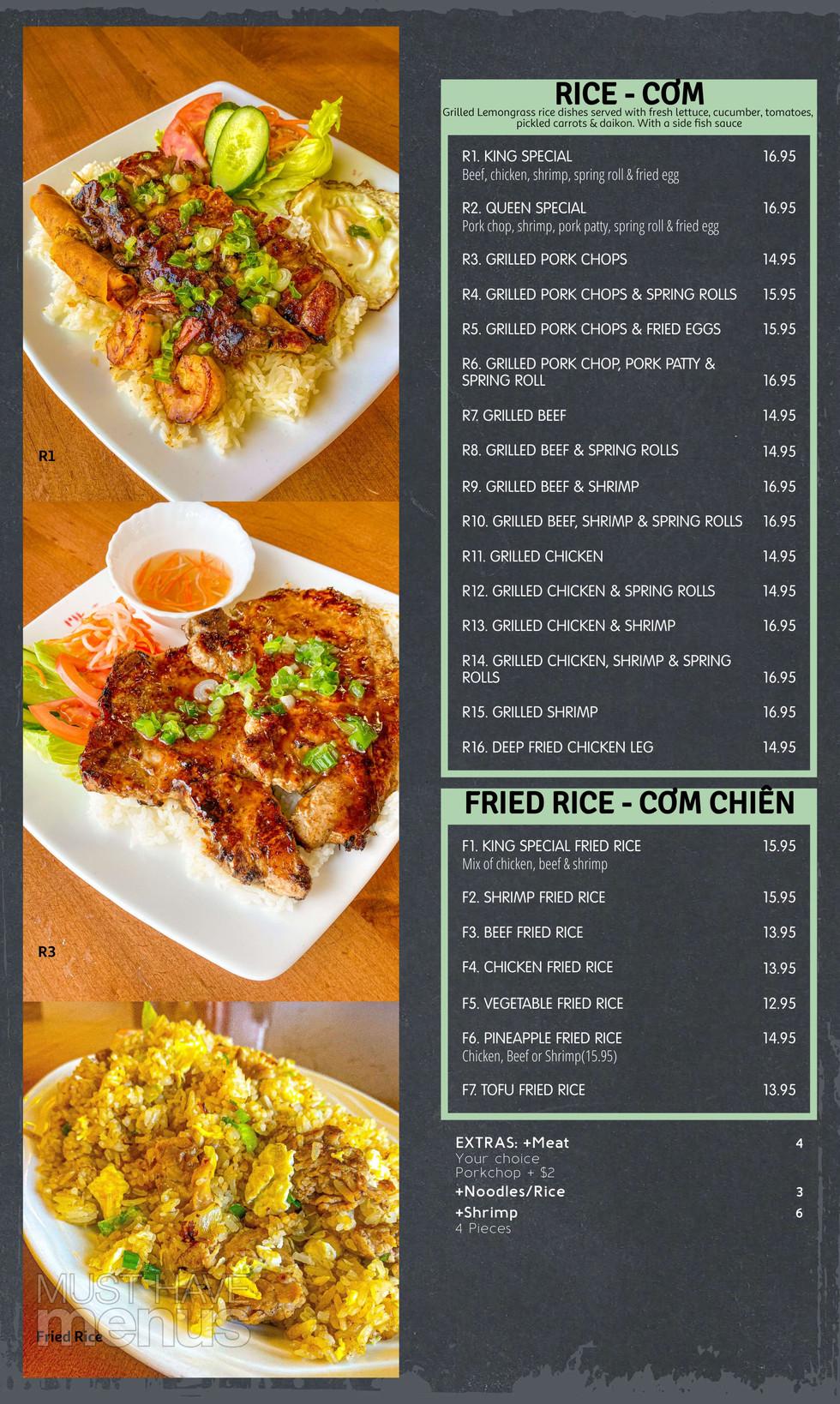 Rice / Fried Rice