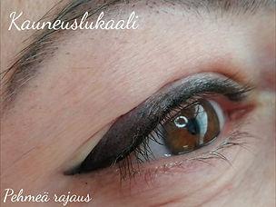 Ripsityven pigmentointi ja pehmeä silmär