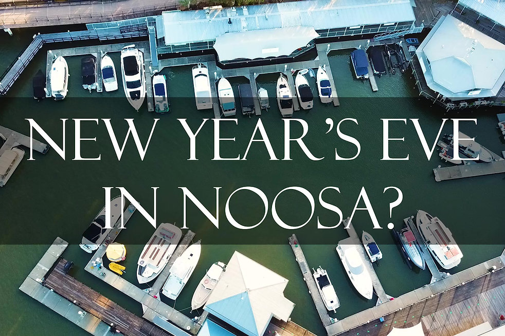 New Years Eve 2018 Noosa Fireworks