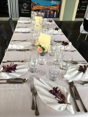 Noosa Italian Restaurant weddings function