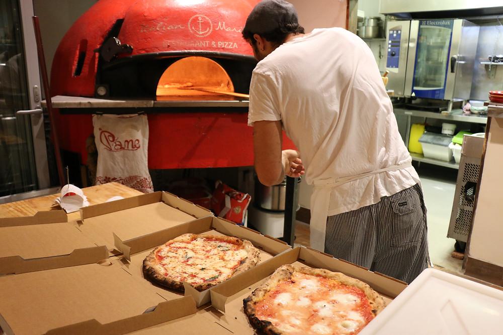 Italian Woodfire Pizza