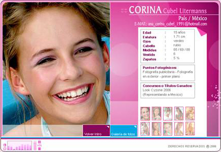 Page web promotionnelle