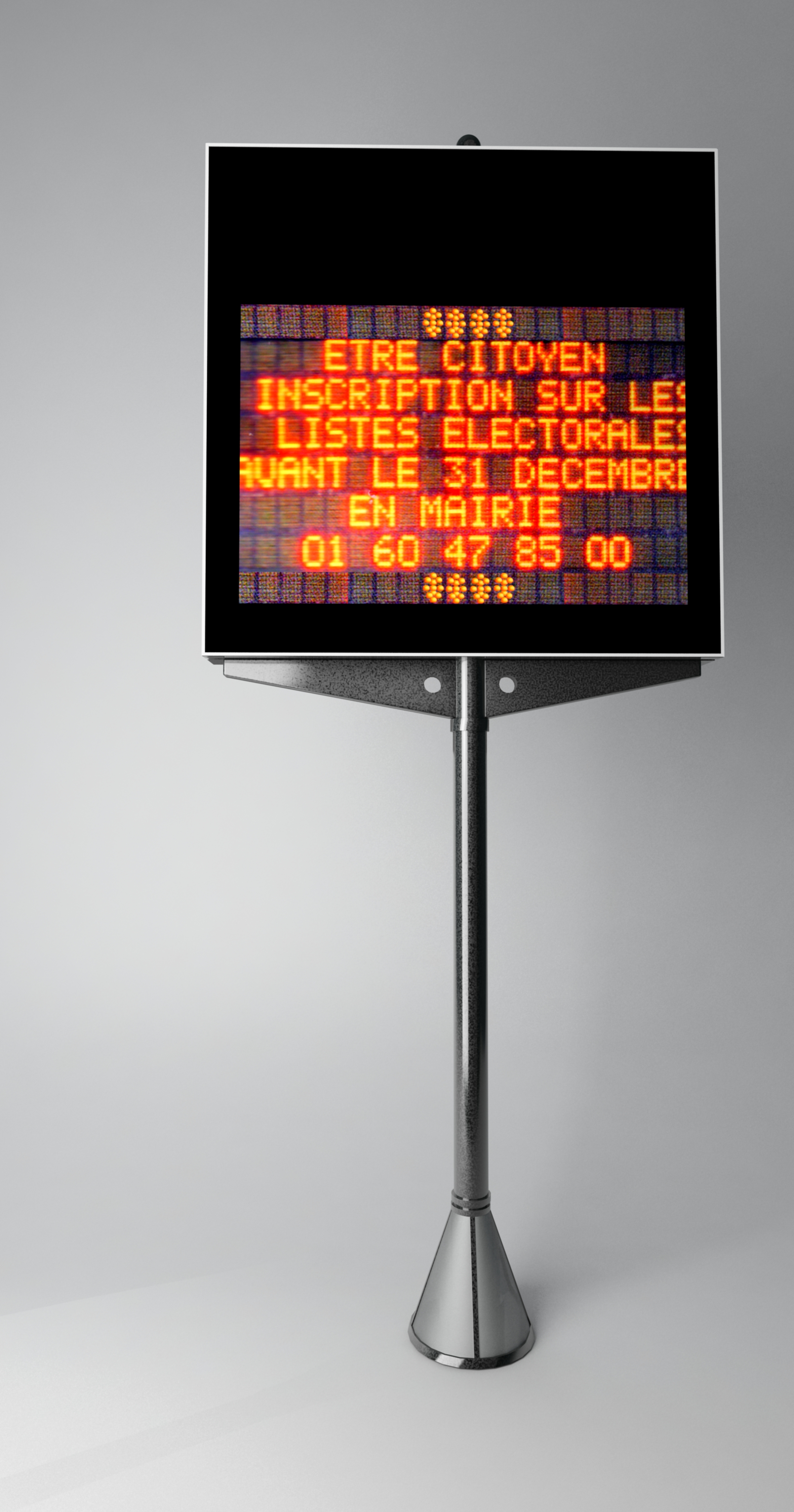 Panneau d'affichage électronique