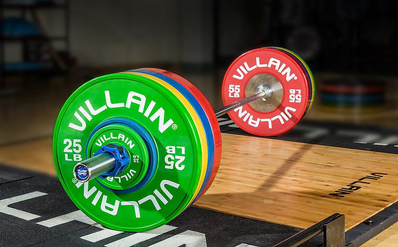 Bumper plates VILLAIN FITNESS