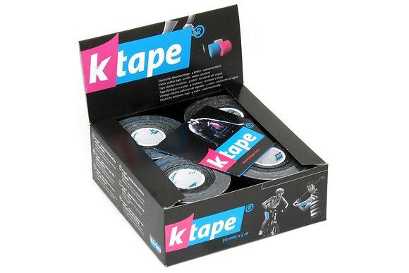 K-tape rouleau 5m noir, à l'unité